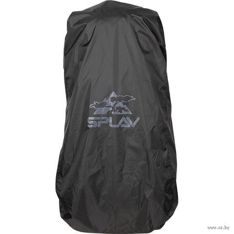 Накидка на рюкзак (70-90 л; чёрная) — фото, картинка