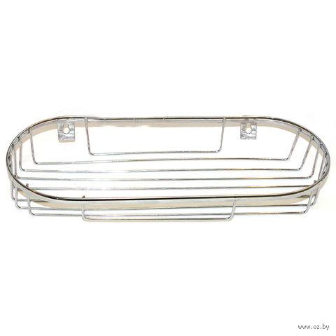 Полка для ванной металлическая (33х13х5,3 см)