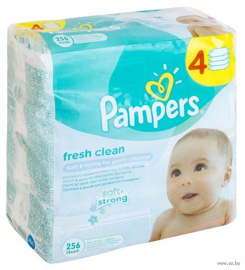 """Салфетки влажные детские """"Pampers Baby Fresh"""" (256 шт)"""
