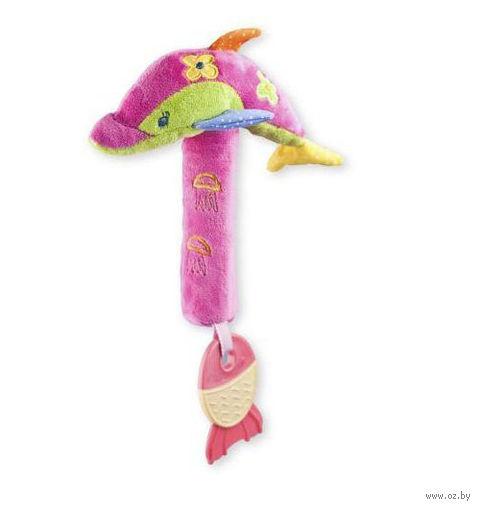 """Мягкая игрушка-пищалка """"Дельфин"""""""