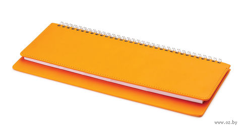 "Планинг ""Velvet"" (305х130 мм; оранжевый) — фото, картинка"