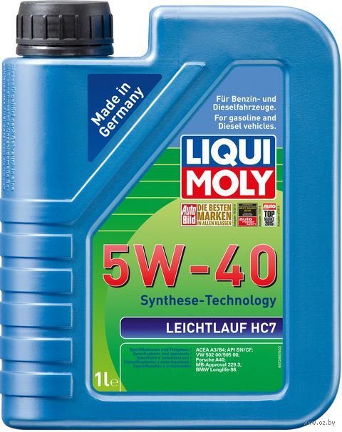 "Масло моторное ""Leichtlauf HC7"" 5W-40 (1 л) — фото, картинка"