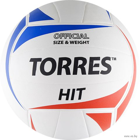 """Мяч волейбольный Torres """"Hit"""" №5 — фото, картинка"""