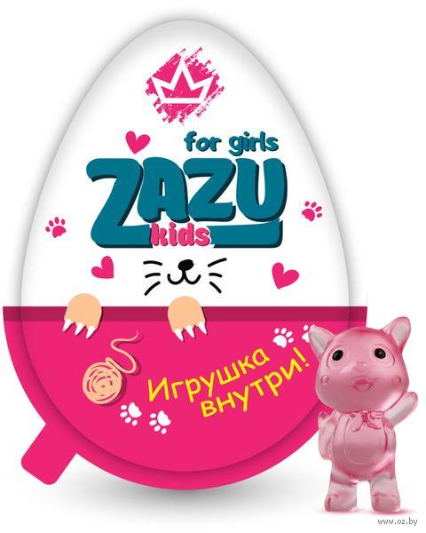 "Яйцо шоколадное ""Zazu. For Girls"" (20 г) — фото, картинка"