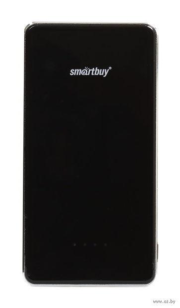 Внешний аккумулятор (Power bank) SmartBuy X-6000, черный (SBPB-6010)