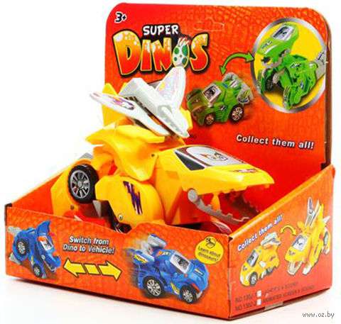 "Игрушка-трансформер ""Super Dinos"" (арт. 1302-1) — фото, картинка"