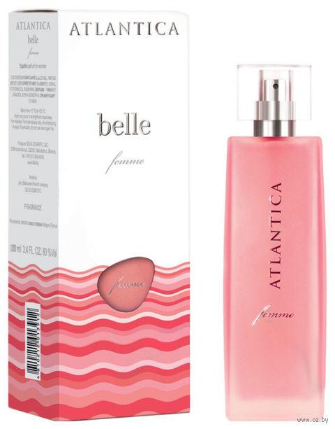 """Парфюмерная вода для женщин """"Atlantica femme. Belle"""" (100 мл) — фото, картинка"""