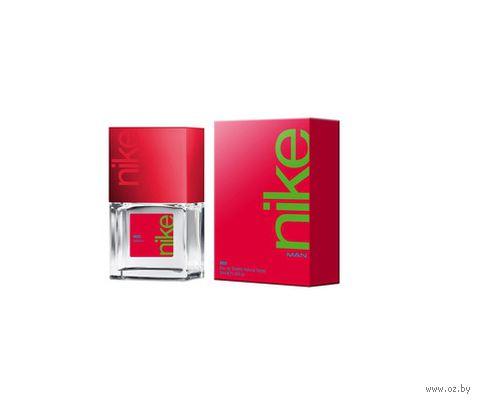 """Туалетная вода для мужчин """"Nike. Red"""" (30 мл)"""