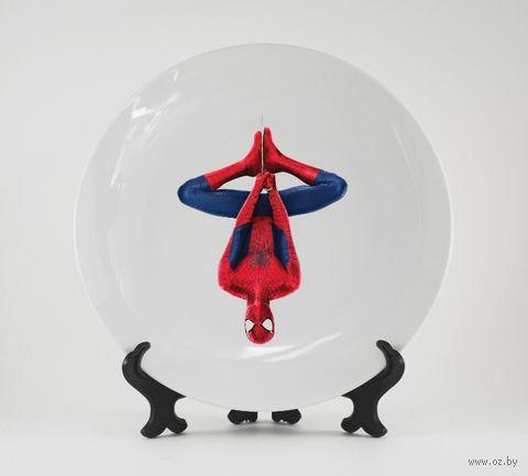 """Тарелка """"Человек-паук"""" (422)"""