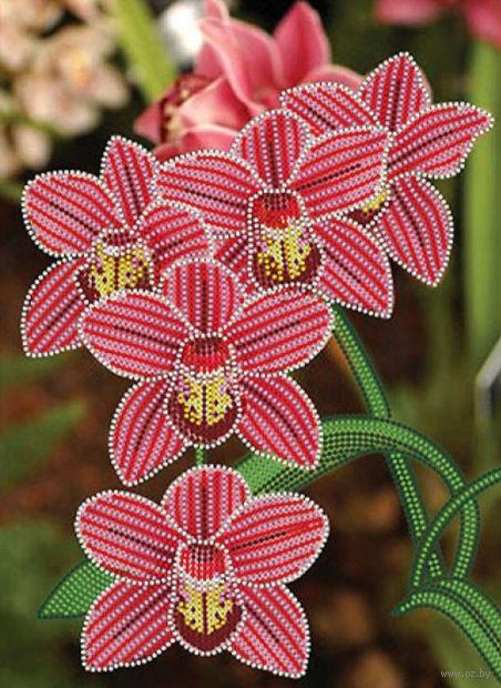 """Вышивка бисером """"Орхидеи"""""""