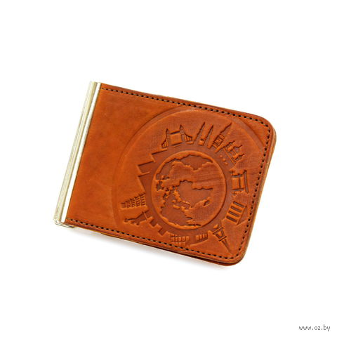 Зажим для денег (арт. КГЗ-10-018) — фото, картинка