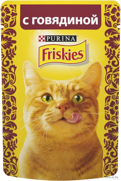 Пресервы для кошек (85 г; говядина в подливе) — фото, картинка