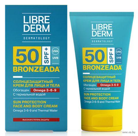"""Крем солнцезащитный для лица и тела """"С Омега 3-6-9 и термальной водой"""" SPF 50 (150 мл) — фото, картинка"""