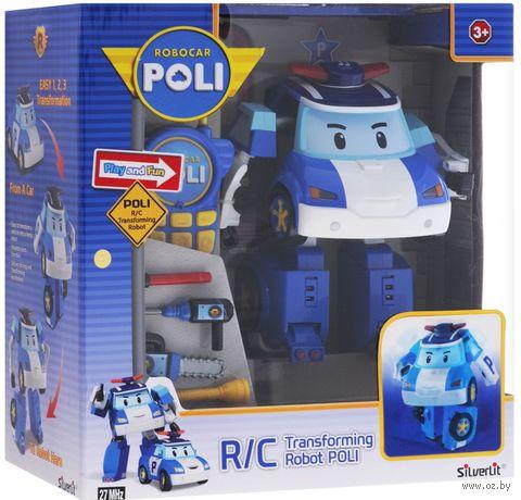 """Робот-трансформер на радиоуправлении """"Поли"""" (со звуковыми и световыми эффектами) — фото, картинка"""
