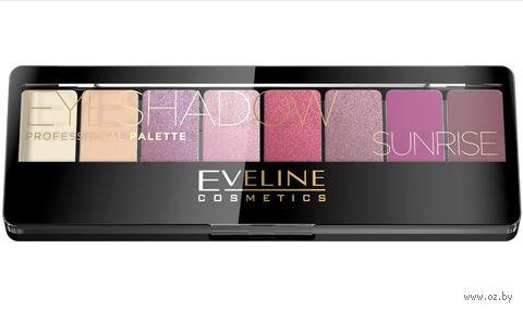 "Палетка теней для век ""Eyeshadow Professional Palette"" тон: 01 — фото, картинка"