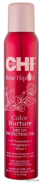 "Масло для волос ""Rose Hip Oil Dry UV Protecting Oil. Питание цвета"" (150 г) — фото, картинка"
