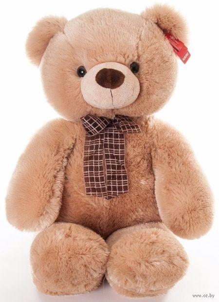 """Мягкая игрушка """"Медведь медовый с бантом"""" (69 см) — фото, картинка"""