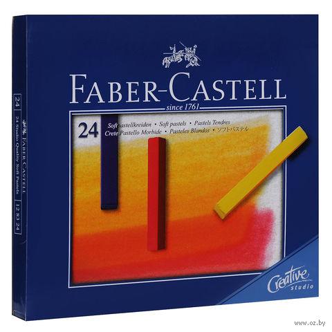 Мягкие мелки GOFA в картонной коробке (24 цвета) — фото, картинка
