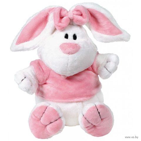 """Мягкая игрушка """"Кролик белый сидячий"""" (23 см)"""