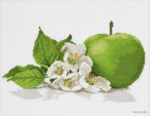 """Вышивка крестом """"Яблочный аромат"""" (250x150 мм) — фото, картинка"""