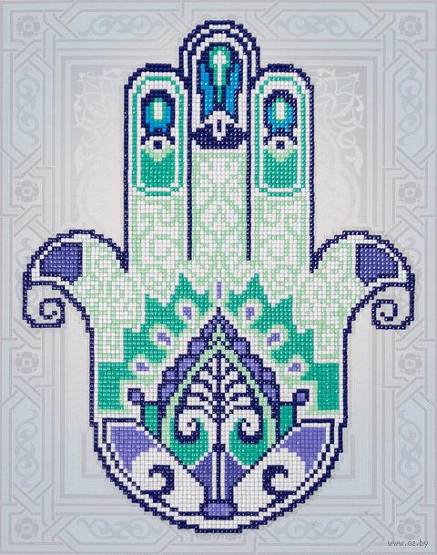 "Алмазная вышивка-мозаика ""Хамса"" (240x300 мм) — фото, картинка"