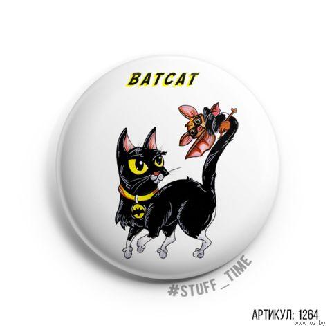 """Значок """"Batcat"""" (арт. 1264) — фото, картинка"""