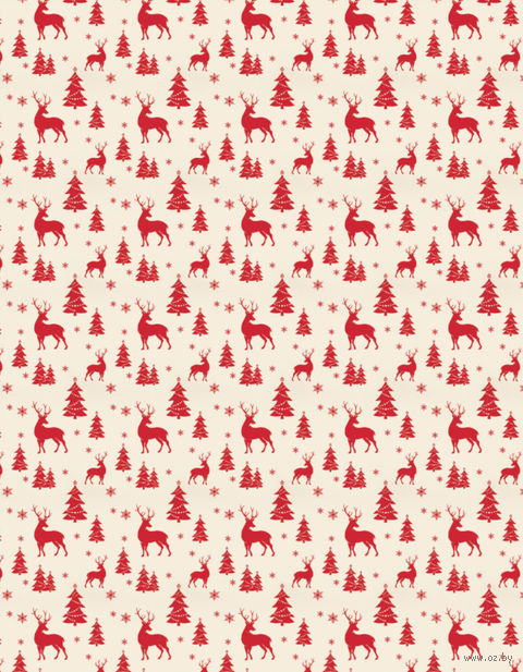 "Простыня хлопковая ""Merry Christmas"" (210х220 см) — фото, картинка"