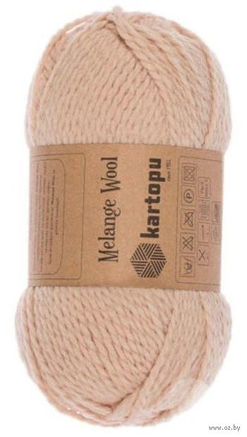 "Пряжа ""KARTOPU. Melange Wool №K8011"" (100 г; 170 м; бежевый) — фото, картинка"