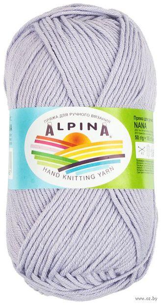 "Пряжа ""ALPINA. Nana №04"" (50 г; 105 м; сиренево-голубой) — фото, картинка"