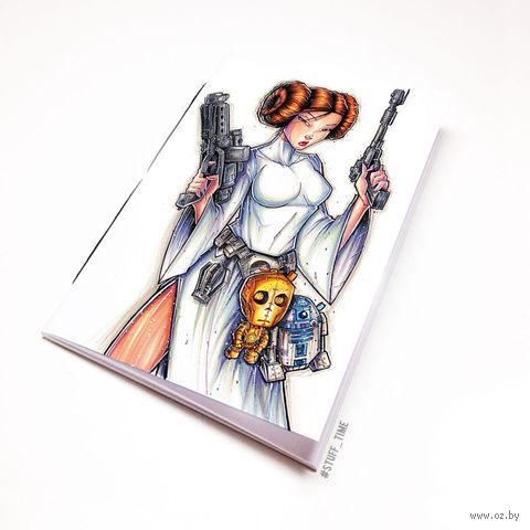 """Блокнот """"Звездные войны"""" (А5; арт. 916) — фото, картинка"""