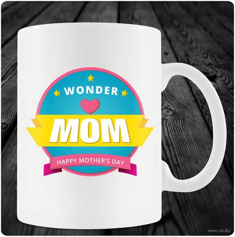 "Кружка ""Happy Mother's Day"" (арт. 35) — фото, картинка"