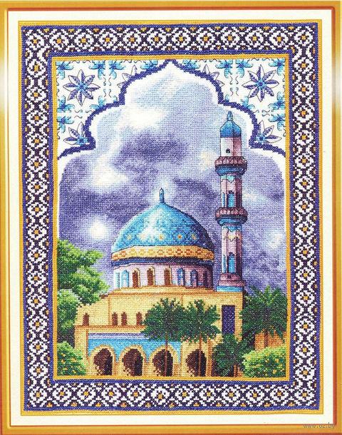 """Вышивка крестом """"Мечеть"""""""