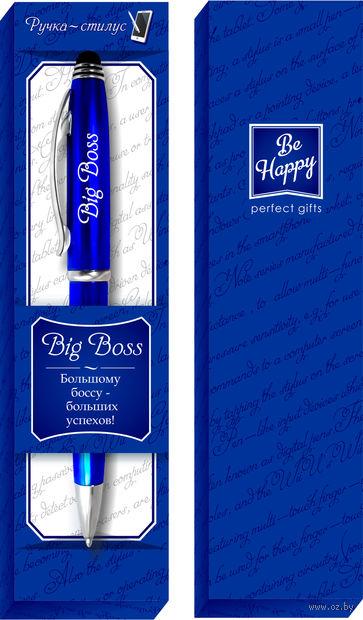 """Ручка шариковая со стилусом """"Big Boss"""""""