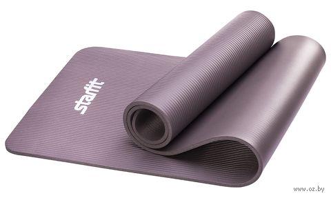 Коврик для йоги FM-301 (183x58x1 см; серый) — фото, картинка