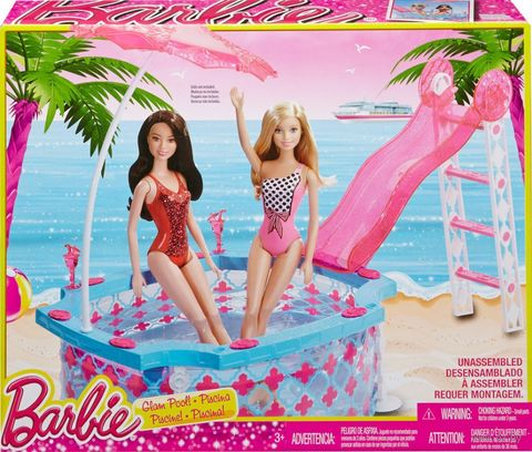 "Игровой набор ""Барби. Бассейн"" — фото, картинка"