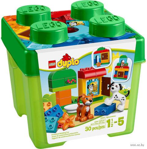"""LEGO Duplo """"Лучшие друзья: кот и пес"""""""
