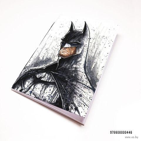 """Блокнот белый """"Бэтмен"""" А7 (446)"""