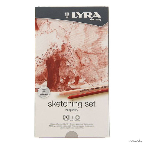 """Набор художественных предметов """"LYRA SKETCHING SET"""" (11 предметов)"""