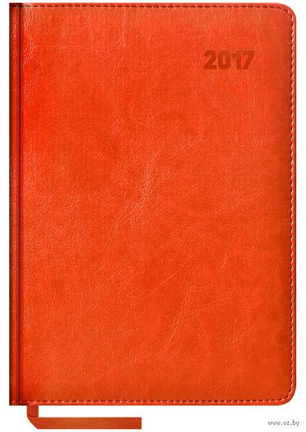 """Ежедневник датированный """"Sarif"""", 2017 (А5; 176 листов; оранжевый)"""