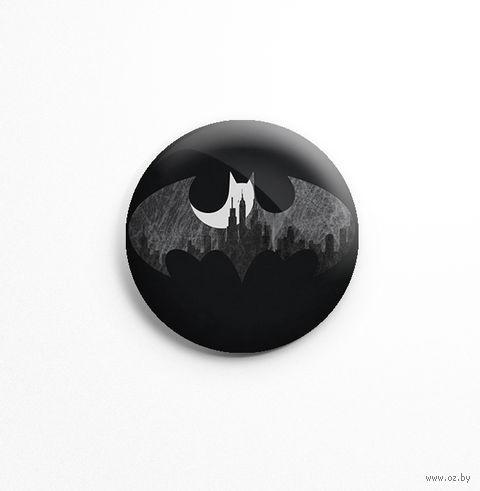 "Значок маленький ""Бэтмен"" (арт. 381) — фото, картинка"