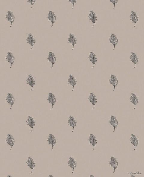 """Простыня хлопковая """"Перья"""" (210х220 см) — фото, картинка"""
