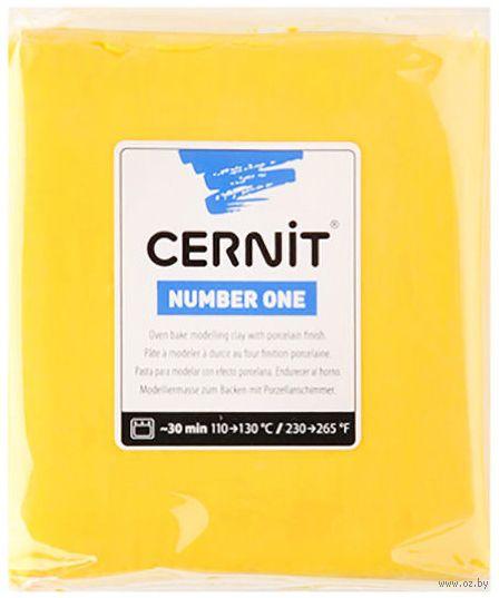 """Глина полимерная """"CERNIT Number One"""" (желтый; 250 г) — фото, картинка"""