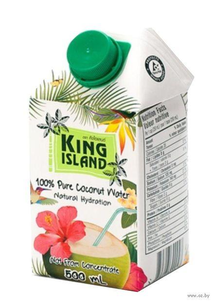 """Вода кокосовая """"King Island"""" (500 мл) — фото, картинка"""
