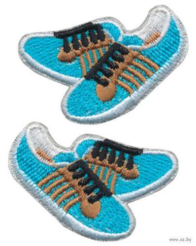 "Термоаппликация ""Синие кроссовки"" — фото, картинка"