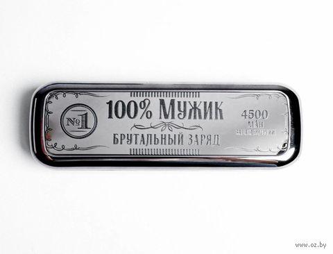 Портативное зарядное устройство Like me 4500 mAh (чёрный) — фото, картинка