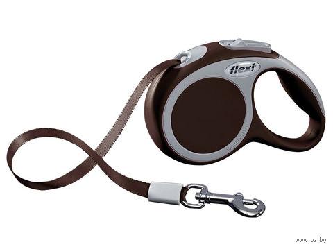 """Поводок-рулетка для собак """"Vario"""" (размер XS; до 12 кг; коричневый)"""