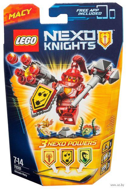"""LEGO Nexo Knights """"Мэйси - Абсолютная сила"""""""