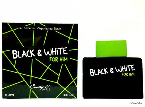 "Парфюмерная вода для мужчин ""Black & White"" (90 мл)"
