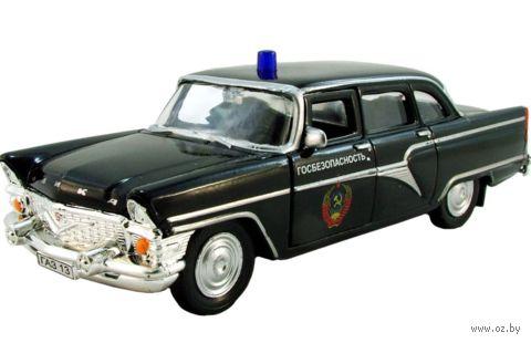 "Модель машины ""ГАЗ-13. Чайка КГБ"" (масштаб: 1/43)"