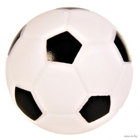 """Игрушка для собаки """"Футбольный мяч"""" (9 см) — фото, картинка"""